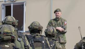 The Army`s Chief of Operations inspected the exercise KVARN17