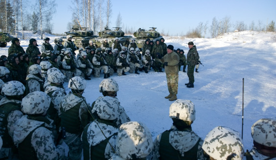 Commander of the US Army visited Finland