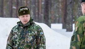Commander of the Finnish Army inspected the Finnish exercise troops in the exercise Northern Wind 2019