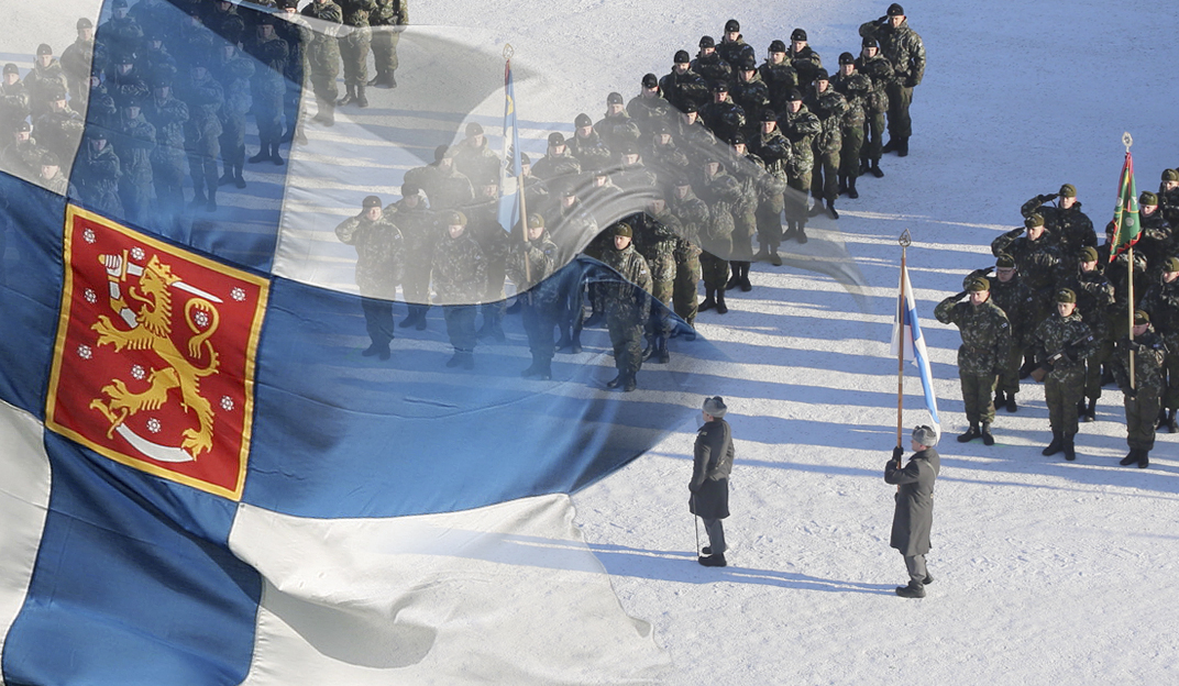 National Parade on the Finnish Independence Day in Mikkeli