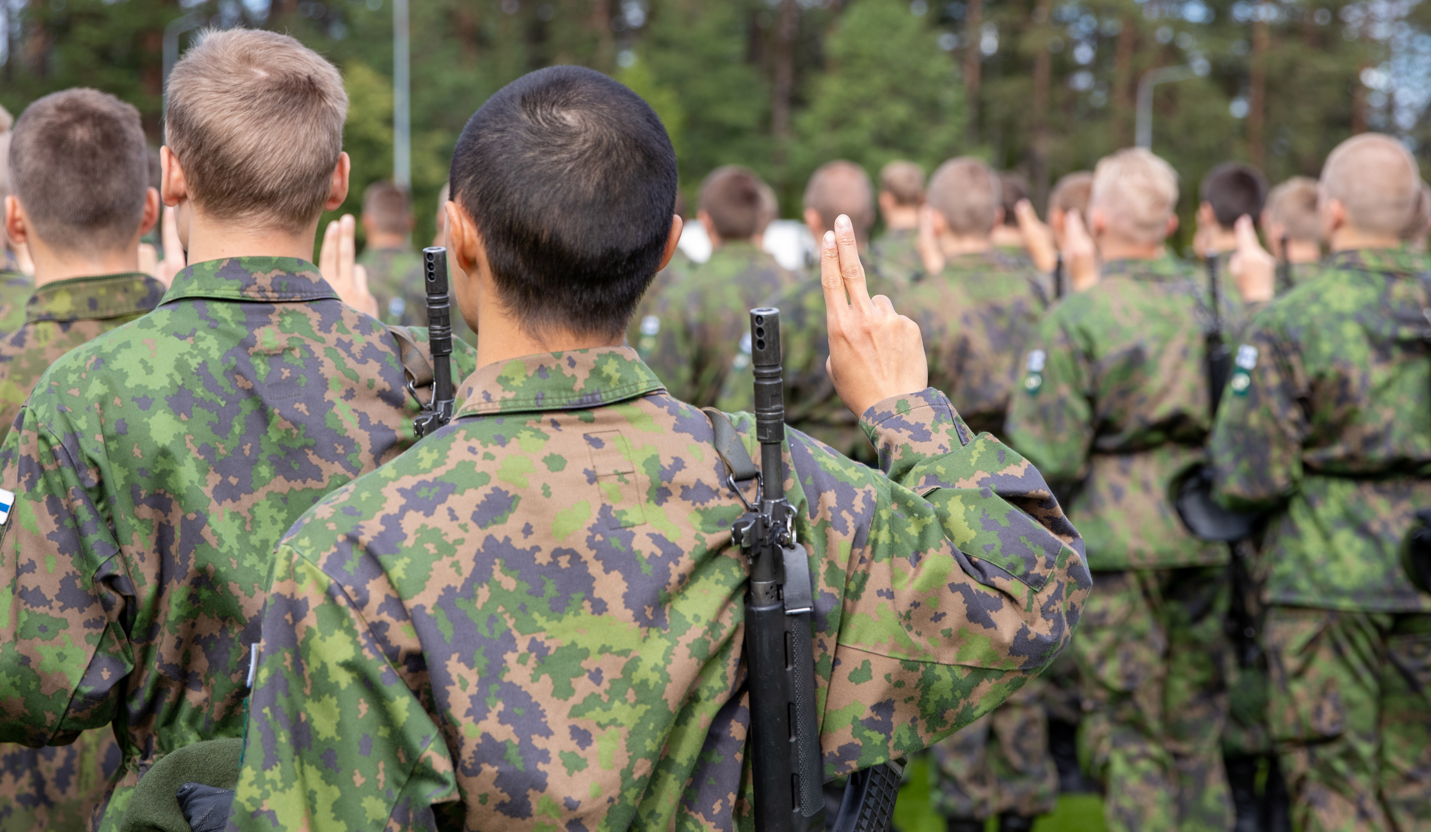 Military oath and military affirmation ceremonies in the Pori Brigade available online