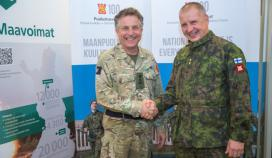 Commander of the British Army visited Finland