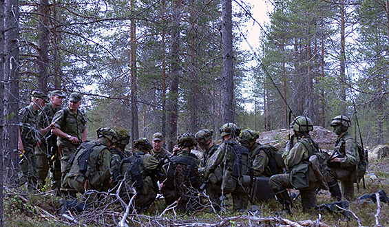 Training exercise Pohjoinen 18 marks the final combat training exercise of thousands of conscripts