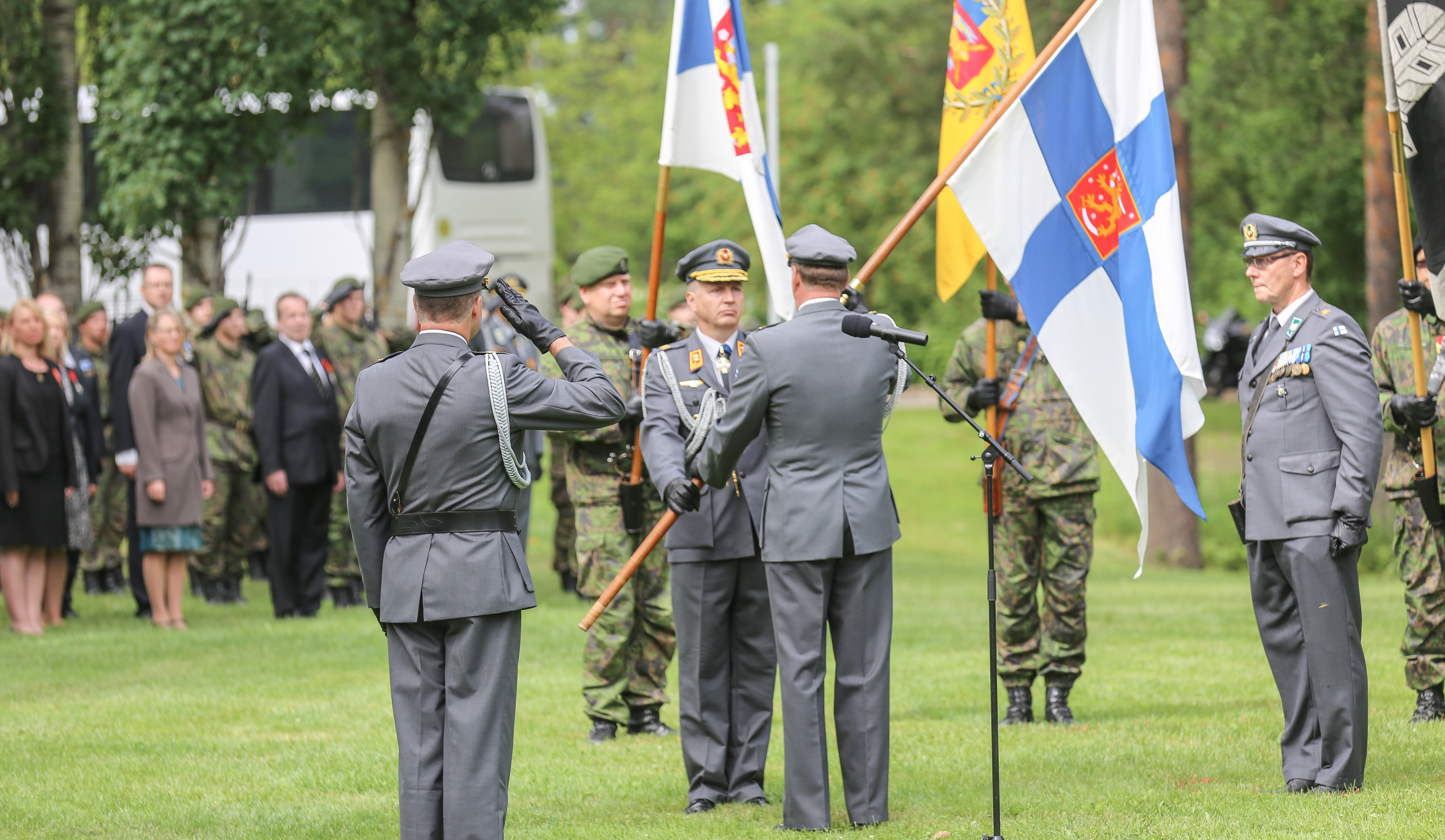 New Commander of the Finnish Army: